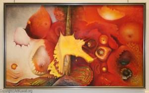 Khaliffa Al Qattan' s Art Exhbition