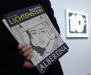 Black & White Roy Lichtenstein at Albertina Museum