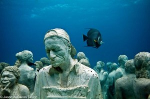 Underwater art of Jason Taylor de Caires