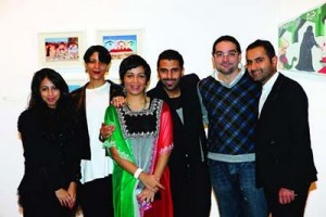 Young artists showcase artworks about Kuwait