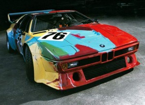 Exhibition of BMW Fine Art Cars