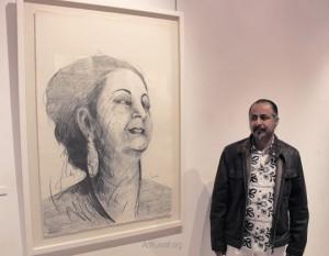 Dar Al Funoon Gallery: Opening of Jamal Abdul Rahim's exhibition