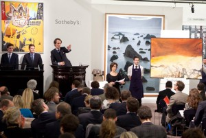 Sotheby's London Contemporary art evening auction totals $79.7m