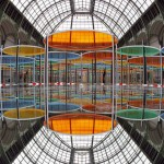 Excentrique(s) by Daniel Burren at the Grand Palais in Paris (click to enlarge)