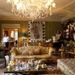 The living room of Al Sulaiman's London townhouse. Photo © Beatriz Da Costa