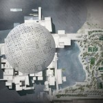 An architectural rendering of the Louvre Abu Dhabi. Copyright 2012 The New York Times Company