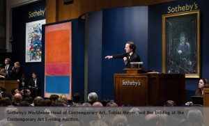 Sotheby's and Christie's: $375 and $412 million