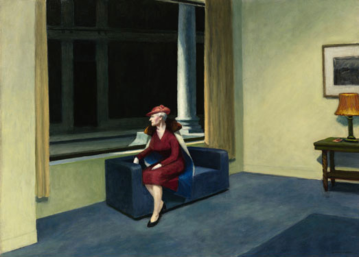 Edward Hopper, Hotel Window,1955, oil on canvas,101.6 x 139.7 cmSold $26.8 million at the Sotheby's in 2006