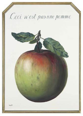 René Magritte (1898-1967)Ceci n'est pas une pomme, 141.7 x 100.8 cm, 1964