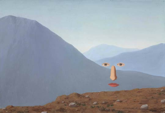 René Magritte (1898-1967)Tous les jours, oil on canvas,50.2 x 73.3 cm,1966