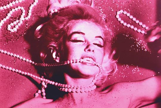 Bert Stern Marilyn Monroe Pink Pearls
