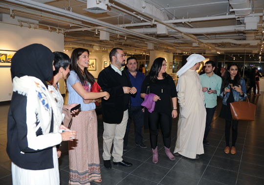 Fareed Abdal Exhibition (2)