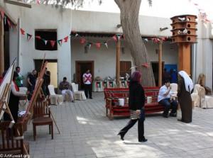Kuwaiti artists celebrate National Day at the Free Art Atelier