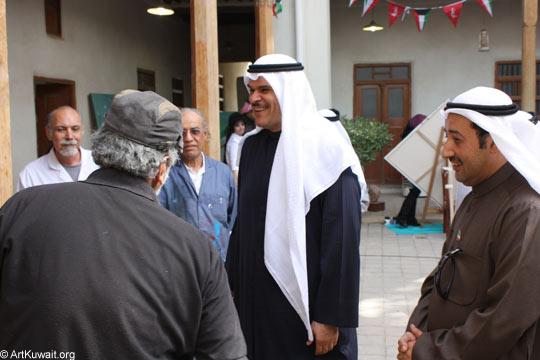 Minister of Information, Sheikh Salman Al Sabah