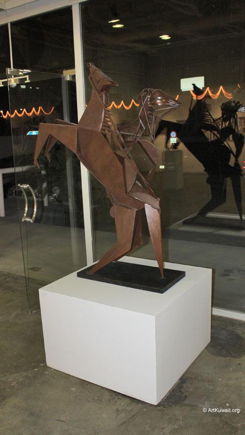 Hussein Madi Retrospective Exhibition Kuwait (10)