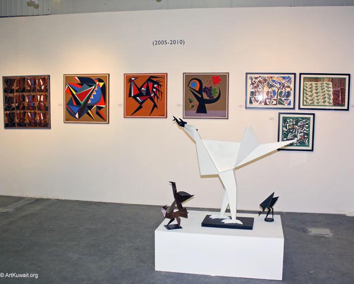 Hussein Madi Retrospective Exhibition Kuwait (11)