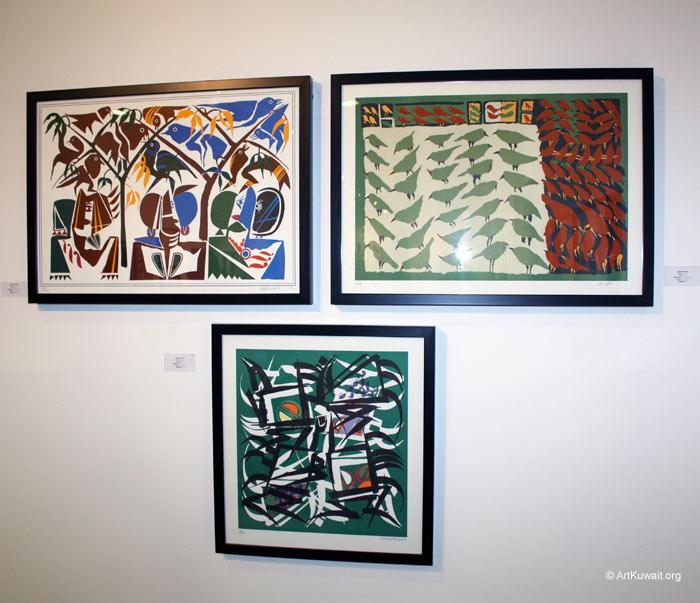Hussein Madi Retrospective Exhibition Kuwait (13)