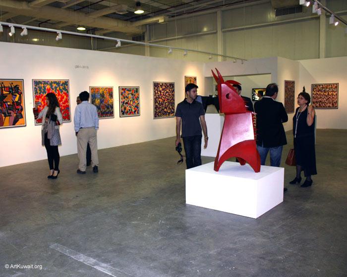 Hussein Madi Retrospective Exhibition Kuwait (14)