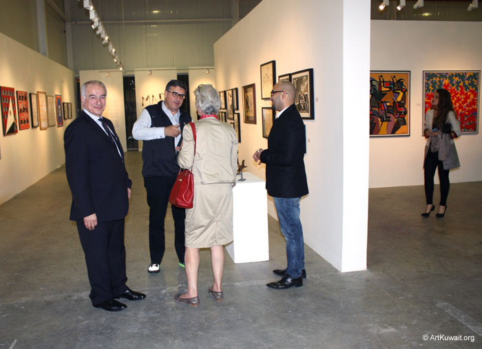 Hussein Madi Retrospective Exhibition Kuwait (15)