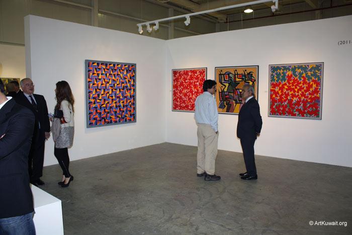 Hussein Madi Retrospective Exhibition Kuwait (16)