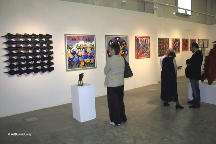 Hussein Madi Retrospective Exhibition Kuwait (17)