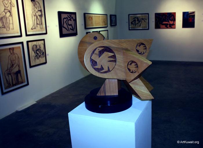 Hussein Madi Retrospective Exhibition Kuwait (19)