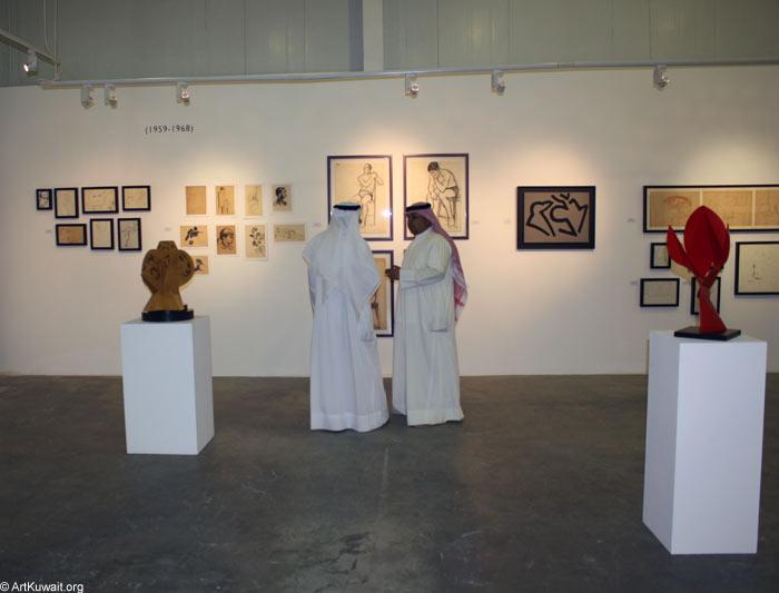 Hussein Madi Retrospective Exhibition Kuwait (2)