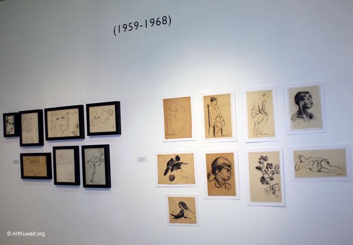 Hussein Madi Retrospective Exhibition Kuwait (20)