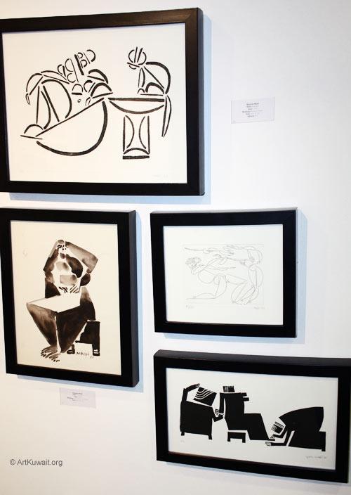 Hussein Madi Retrospective Exhibition Kuwait (24)