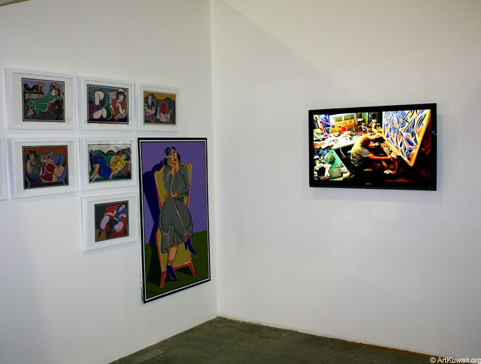 Hussein Madi Retrospective Exhibition Kuwait (4)
