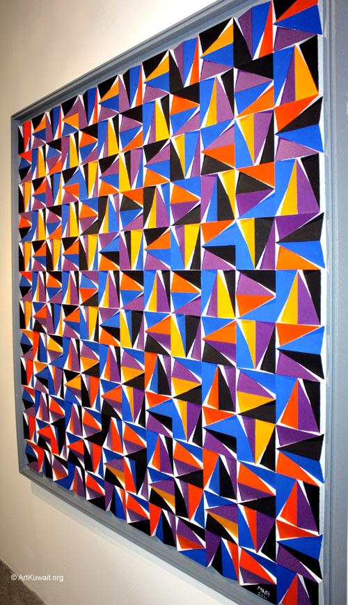 Hussein Madi Retrospective Exhibition Kuwait (6)