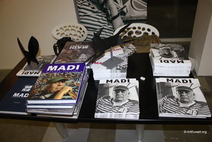 Hussein Madi Retrospective Exhibition Kuwait (9)