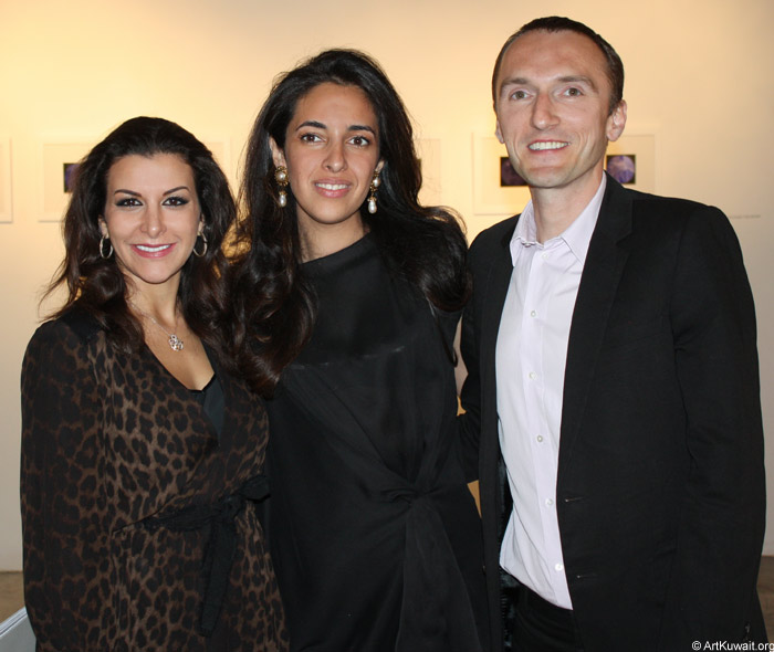 Sheikha Lulu Al Sabah and Boris Pavelic