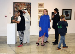 Opening of TAJREED: Arab Abstract Art – Part 1 at CAP