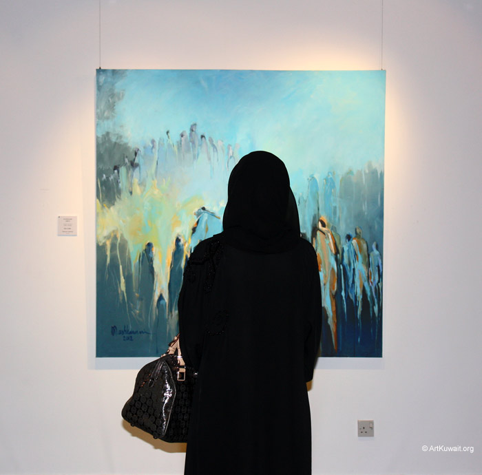 Mahmoud Ashkanani Exhibition (4)