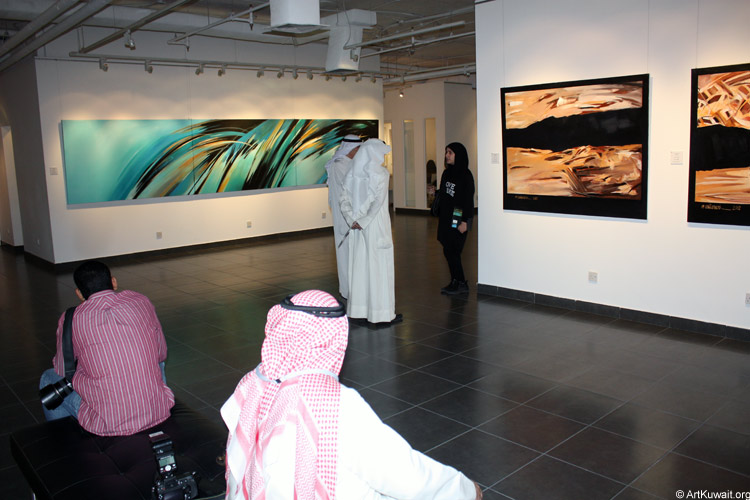 Mahmoud Ashkanani Exhibition (6)
