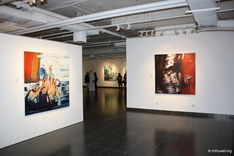 Mahmoud Ashkanani Exhibition (8)