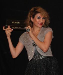 Shurooq Amin received Arab Woman Awards Kuwait 2013