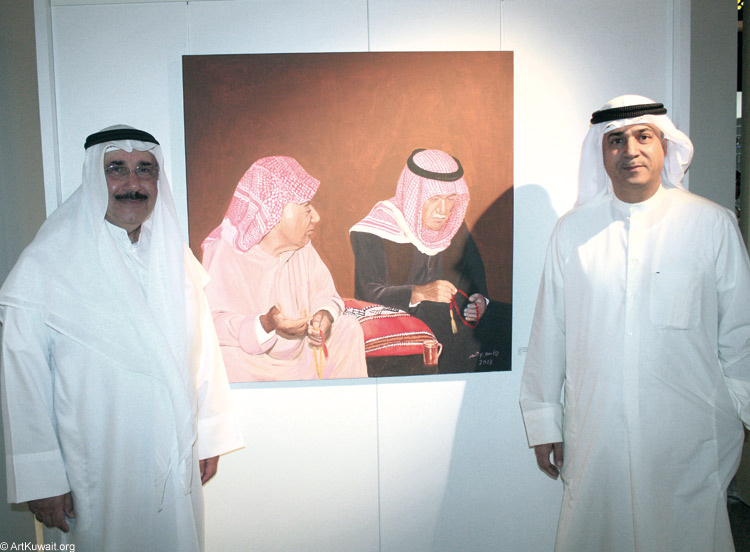 Al Mashreq Gallery / Exhibition of Jassem Bu Hamad