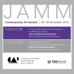 Save the date: JAMM Contemporary Arab, Iranian and International Art Auction in November