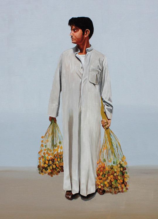 Kuwaiti artist Jassem Bu Hamad