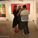 "Exhibition of Shurooq Amin ""It's a Man's World"" was shut down 3 hours after the Opening"