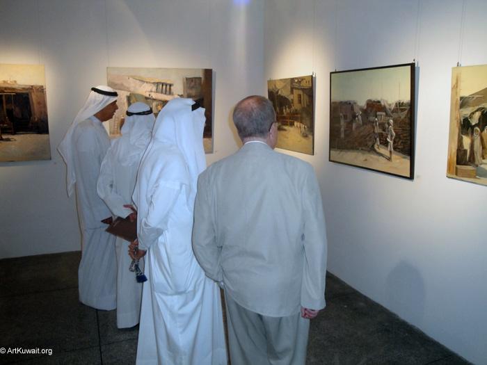 AL Mashreq Gallery Kuwait - Exhibition Kuwaiti artist Abdul Rida Baqer (10)