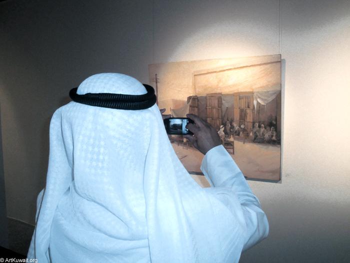AL Mashreq Gallery Kuwait - Exhibition Kuwaiti artist Abdul Rida Baqer (11)