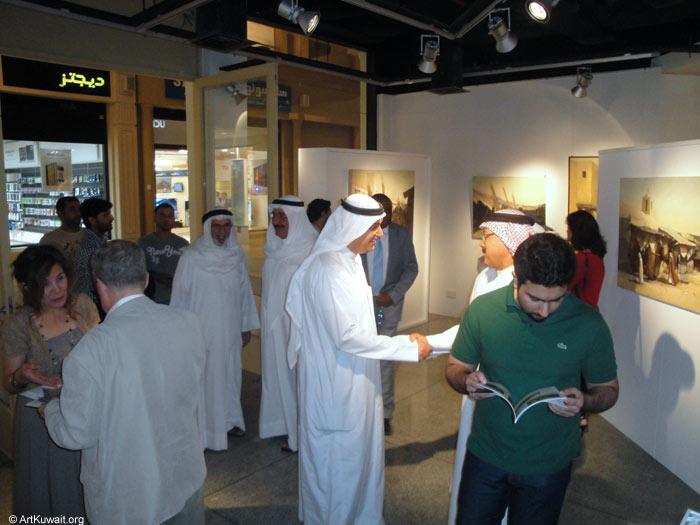AL Mashreq Gallery Kuwait - Exhibition Kuwaiti artist Abdul Rida Baqer (12)