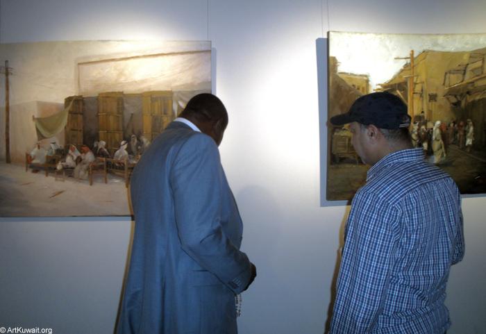 AL Mashreq Gallery Kuwait - Exhibition Kuwaiti artist Abdul Rida Baqer (13)