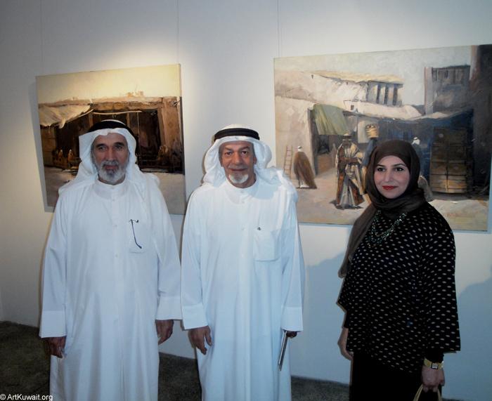 AL Mashreq Gallery Kuwait - Exhibition Kuwaiti artist Abdul Rida Baqer (2)