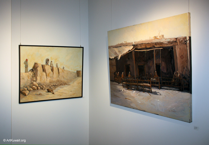 AL Mashreq Gallery Kuwait - Exhibition Kuwaiti artist Abdul Rida Baqer (5)