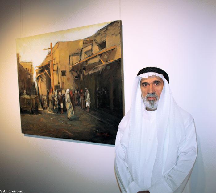 AL Mashreq Gallery Kuwait - Exhibition Kuwaiti artist Abdul Rida Baqer (6)