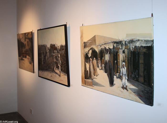 AL Mashreq Gallery Kuwait - Exhibition Kuwaiti artist Abdul Rida Baqer (7)